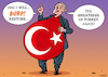 Cartoon: President Erdogan (small) by EnricoBertuccioli tagged erdogan,government,turkey,autocracy,preaident,islam,islamic,leadership,authoritarianism,economy,power,business,democracy,inflation,money,developement