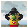 Cartoon: Vincenzina Magritte (small) by Giuseppe Scapigliati tagged strip