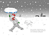 Cartoon: White Christmas (small) by Birtoon tagged schnee,weihnacht