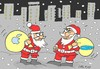 Cartoon: consumption frenzy (small) by yasar kemal turan tagged consumption frenzy