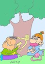 Cartoon: declaration of love (small) by yasar kemal turan tagged declaration,of,love