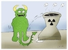 Cartoon: nuclear cooling (small) by yasar kemal turan tagged nuclear cooling japan