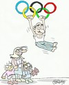 Cartoon: Olympia (small) by yasar kemal turan tagged olympia