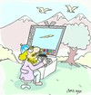 Cartoon: picture (small) by yasar kemal turan tagged picture