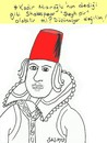 Cartoon: Shakespeare-seyh Pir (small) by yasar kemal turan tagged shakespeare