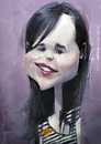 Cartoon: Ellen Page caricature (small) by Jeff Stahl tagged ellen,page,actress,caricature,illustration,art,artwork,digital,painting,jeff,stahl