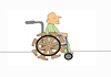 Cartoon: DisAbility (small) by karunakar tagged ability disability pwd