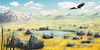 Cartoon: Freedom (small) by alesza tagged digital,digitalart,digitalpainting,eagle,environment,freedom,landscape,nature,painting,procreate,ipadart