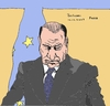 Cartoon: Berlusconi (small) by Fusca tagged corruption,scandals,citizenship