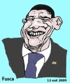Cartoon: Thank you Obama (small) by Fusca tagged chavists,autocracies,latrocracy,lula,chavez,corruption,terrorism