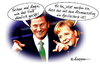 Cartoon: Aprilscherz (small) by rpeter tagged merkel,guido,westerwelle,atomausstieg,aprilscherz,regierung,kernkraft