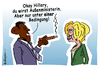 Cartoon: Bedingung (small) by rpeter tagged obama,hillary,sex