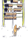 Cartoon: No limits (small) by Monica Zanet tagged free zanet