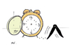 Cartoon: Time (small) by Monica Zanet tagged watch,free,zanet,time