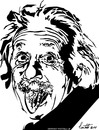 Cartoon: albert einstein (small) by ignant tagged einstein,cartoon