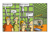 Cartoon: homus cricetus (small) by ignant tagged lavoro,job,humor,cartoon,comic,strip