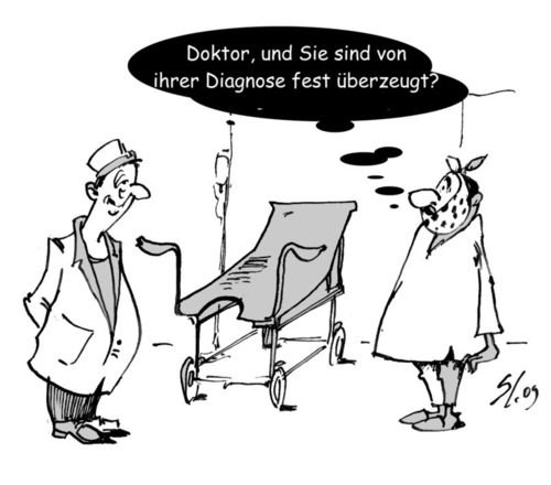 Cartoon: Sind Sie sicher? (medium) by medwed1 tagged schljachow,cartoon