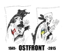 Cartoon: Ostfront (small) by medwed1 tagged uktaine,ostfront,europe