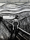 Cartoon: Cry (small) by Zoran Spasojevic tagged cry,edvard,munch,emailart,digital,collage,graphics,spasojevic,zoran,paske,kragujevac,serbia