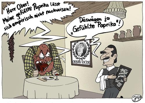Cuisine hongroise von weltasche wirtschaft cartoon for Cuisine hongroise