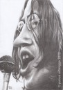 Cartoon: John Lennon (small) by Joen Yunus tagged caricature charcoal rockstar