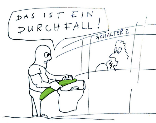 Cartoon: Überfall in diesen Zeiten (medium) by kgbr tagged ehec,gurke,überfall