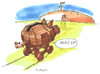 Cartoon: trojanisches sparschwein (small) by kgbr tagged greece,euro,piggy,bank,troja,crisis