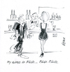 Cartoon: Blah Blah (small) by helmutk tagged bar,talk