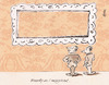 Cartoon: Perfect Wallpaper (small) by helmutk tagged art