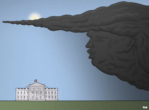 Shadow over the White House