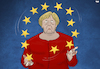 Cartoon: Juggling (small) by Tjeerd Royaards tagged eu,merkel,crisis,europe