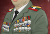Cartoon: Portrait of a Myanmar General (small) by Tjeerd Royaards tagged myanmar,burma,rohingya,genocide,army,general