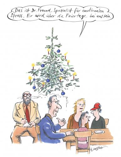 Cartoon: dr. freund (medium) by woessner tagged weihnachten,freud,psychiater,psychologie,stress,emotion,familie,therapie,psychotherapeut,psychoanalyse,weihnachten,weihnacht,bescherung,geschenk,geschenke,tradition,kultur,heiligabend,familie,freud,psychiater,psychologie,psyche,stress,emotion,emotionen,therapie,psychotherapeut,psychoanalyse,familientherapie