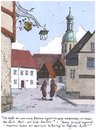 Cartoon: Bierteig (small) by woessner tagged im,bierteig,universität,studium,studenten,seminare,bratwurst,universitätsstadt,essen,kochen,rezept,grillen,braten