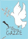 Cartoon: Gazze freedom (small) by Seydi Ahmet BAYRAKTAR tagged gazze,freedom