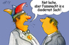 Cartoon: Die ernste Jahreszeit (small) by Henrich tagged fastnacht