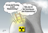 Cartoon: Rein oder raus? (small) by Henrich tagged energie