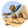Cartoon: Bomberman (small) by abbas goodarzi tagged cave,wild,petrified,forest,law,man,lawlessness,war,violence,inept,bullying,stone,tree,america,the,world,oppressor,unashamed,wand,sticks