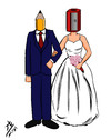 Cartoon: Destiny (small) by yaserabohamed tagged marriage