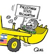 Cartoon: PALESTINIAN STATE RECOGNITION (small) by QUEL tagged palestinian state recognition