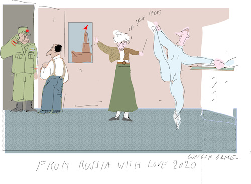 Cartoon: Russia with Love 2020 (medium) by gungor tagged russia,russia