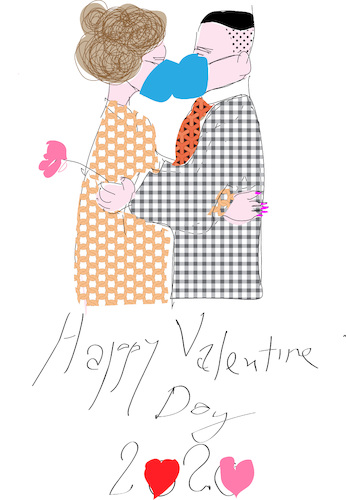Cartoon: Valentine Day 2020 (medium) by gungor tagged valentine,day,valentine,day