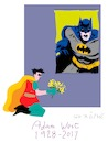 Cartoon: Batman and Robin (small) by gungor tagged usa