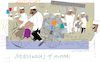 Cartoon: Dabbawalas in Mumbai (small) by gungor tagged india