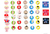 Cartoon: Emojis (small) by gungor tagged fun