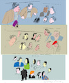 Cartoon: Faces 11 (small) by gungor tagged australia