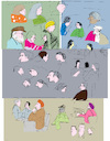 Cartoon: Faces 8 (small) by gungor tagged australia