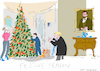 Cartoon: Festive Season (small) by gungor tagged usa
