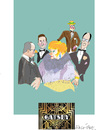 Cartoon: Great Gatsby (small) by gungor tagged europe