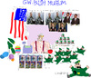 Cartoon: GW Museum (small) by gungor tagged usa